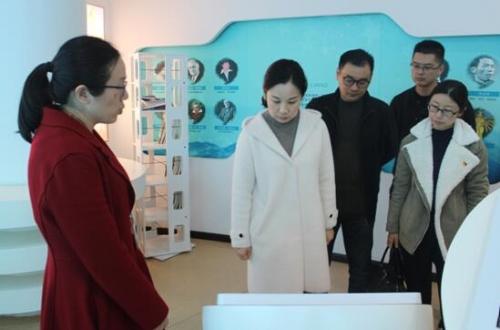 中国银行泰州分行党员来靖江市残疾人社会服