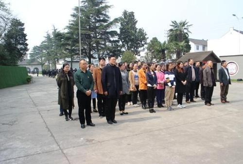 靖江市残联开展祭扫烈士陵墓活动