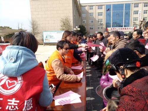靖江市民政局开展移风易俗进社区志愿服务活