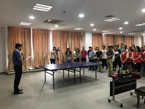 靖江市第七届残疾人文化周活动乒乓球比赛顺