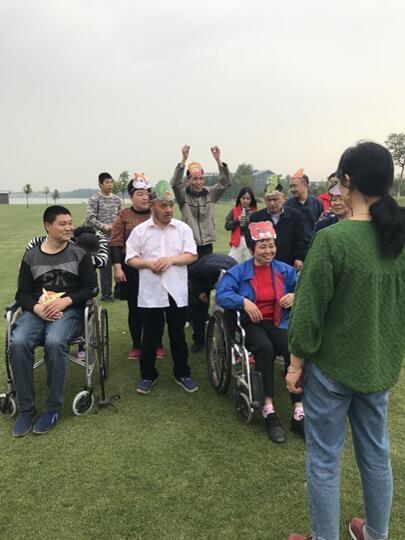 江阴-靖江工业园区办事处残联开展志愿助残
